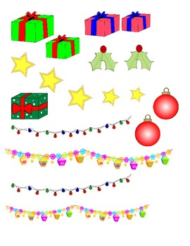 DECORATE A CHRISTMAS TREE AND ORIGINAL CHRISTMAS TREE POEM cut and paste