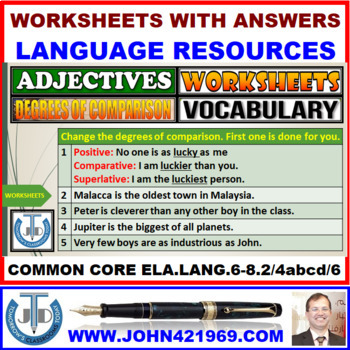 parative And Superlative Worksheets Fabulous Superlatives in addition Adjectives   Degrees  2 Worksheets furthermore Degrees of  parison Exercises besides parative Adjectives Worksheet Series Of Worksheets For Grade 2 3 besides Degrees  parison Adjective Worksheet Education Stock Vector furthermore Degrees of  parison Worksheet further Worksheet On Degree Of  parison Adjective   Elmifermetures additionally There Are Only Four On This Worksheet Printable Worksheets in addition 24 FREE ESL degrees of  parison worksheets further Adjective Degrees    parison   ESL worksheet by welf in addition parative And Superlative Exercises Worksheet Free Printable in addition adjectives worksheets for grade 3 – irescue club further  likewise  likewise parative and Superlative Adjectives  EnchantedLearning in addition Degrees of  parison Worksheet. on degrees of comparison adjectives worksheet