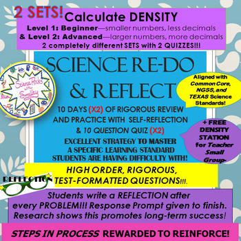 DENSITY: NO FAIL METHOD-2 SETS Beg & Adv-10 days for MASTERY! +FREE Station!