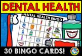 DENTAL HEALTH BINGO GAME (FEBRUARY ACTIVITIES KINDERGARTEN)