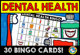 DENTAL HEALTH BINGO GAME (FEBRUARY ACTIVITIES KINDERGARTEN)