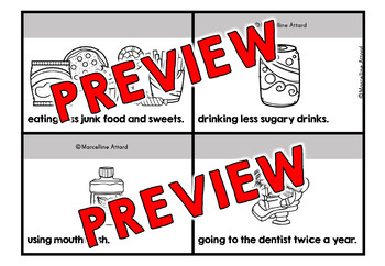 DENTAL HEALTH EMERGENT READER (DENTAL HEALTH MONTH FLIP BOOK)