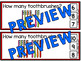 DENTAL HEALTH MATH CENTER (TOOTHBRUSHES COUNTING CLIP CARDS) TALLY MARKS CENTER