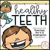 DENTAL HEALTH THEME ACTIVITIES FOR PRESCHOOL, PRE-K AND KINDERGARTEN