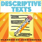 DESCRIPTIVE INFORMATION TEXT LESSON AND RESOURCES