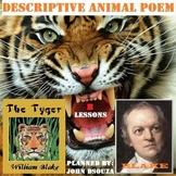 TYGER TYGER - DESCRIPTIVE ANIMAL POEM - UNIT PLANS AND RESOURCES