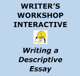 DESCRIPTIVE ESSAY:  Writer's Workshop Interactive Unit...M