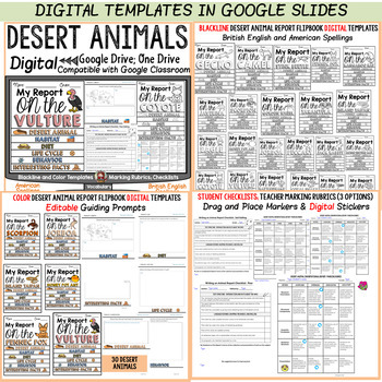 ANIMAL REPORT: DESERT ANIMALS: INFORMATIVE WRITING