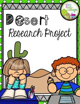 DESERT Research/Report Project Booklet
