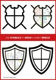 DESIGN A FAMILY SHIELD - MEDIA LITERACY - SIGNS & SYMBOLS