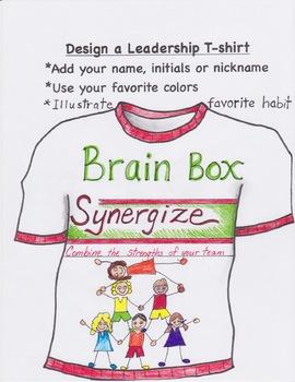DESIGN A LEADERSHIP T-SHIRT