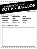 DESIGN YOUR OWN HOT AIR BALLOON!
