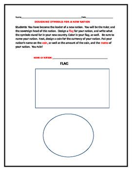 DESIGNING SYMBOLS FOR A NEW NATION/ GRADES 4-8