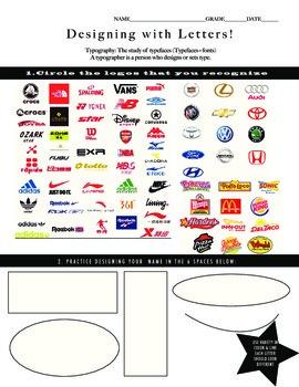 Logo Design Art Project & Understanding Visual literacy