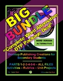 "DESKTOP PUBLISHING BIG BUNDLE - PARTS 1 - 6 (Word /Alternative) – ""BE$T DEAL"""