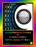 "DESKTOP PUBLISHING (Comp.Apps/ Wd.Proc.) ""#17 Design & Create Application Blank"""