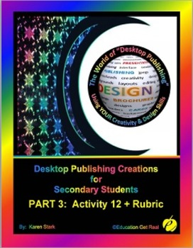 "DESKTOP PUBLISHING (Comp.Apps/ Wd.Proc.) ""#12 Design 3 New"