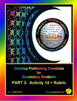 "DESKTOP PUBLISHING (Comp.Apps/ Wd.Proc.) ""#14 Create Schoo"