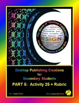 """DESKTOP PUBLISHING (Comp.Apps/ Wd.Proc.) """"#25 Write Step-by Step Instructions"""""""