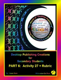 """DESKTOP PUBLISHING (Comp.Apps/ Wd.Proc.) """"#27 4-Page Conference Program"""""""