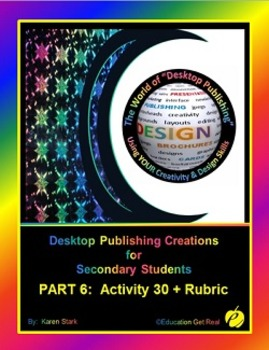 """DESKTOP PUBLISHING (Comp.Apps/ Wd.Proc.)  """"#30 High School Commencement Program"""""""