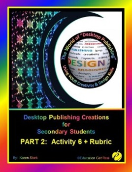 """DESKTOP PUBLISHING (Comp.Apps/ Wd.Proc.) """"#6 County Bicycle Classic Flyer"""""""