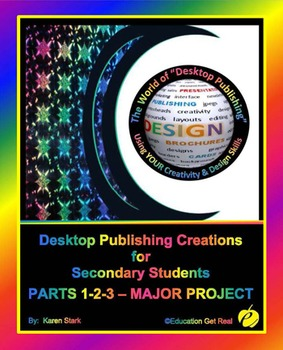 "DESKTOP PUBLISHING PARTS 1-2-3 MAJOR PROJECT: ""Assessing DTP Basic Skills"""