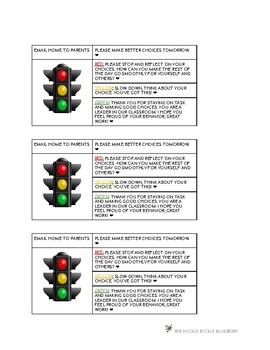 DESKTOP STOPLIGHTS - DISCREET BEHAVIOR MANAGEMENT