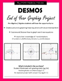 DESMOS End of Year Graphing Project (slope-intercept, transformations)