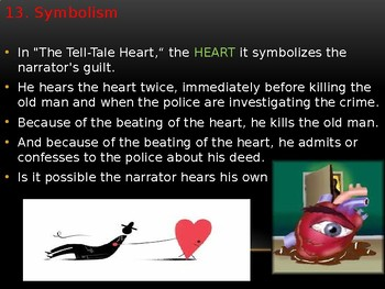 """DETAILED ANALYSIS/REVIEW of """"The Tell- Tale Heart """" by Edgar Allan Poe"""