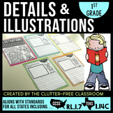 DETAILS and ILLUSTRATIONS First Grade RL1.7 (CCSS RL 1.7 a