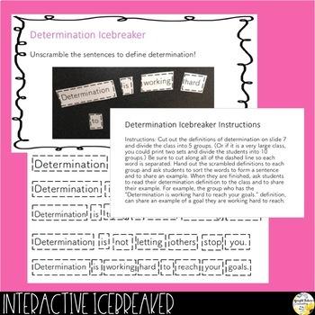 DETERMINATION PowerPoint Guidance Lesson