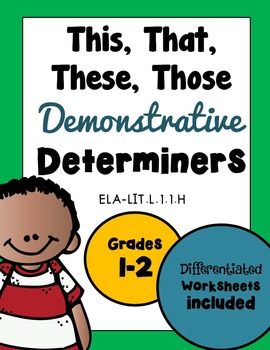 Determiners Demonstratives