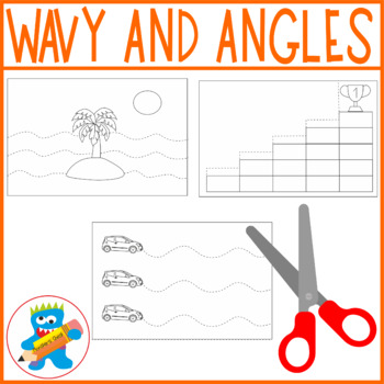 20 fun worksheets, I can use the scissors level 2, developing cutting skills