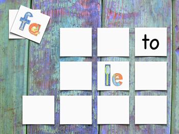 DFLPT Syllables Memory Game - Juego de memoria de las sílabas DFLPT