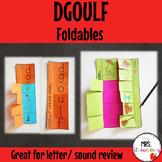 DGOULF Foldable Flip Books