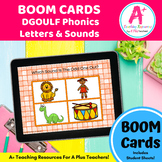 DGOULF Phonics Letters & Sounds BOOM Cards For Distance Learning