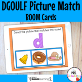 DGOULF Initial Sound Picture Match Boom Cards Distance Learning