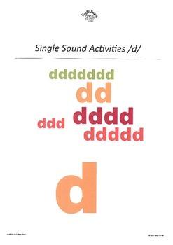 DHERCKM alphabet sounds /d/