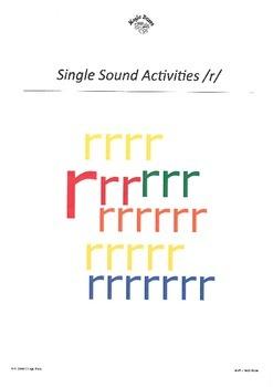 DHERCKM alphabet sounds /r/