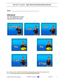 DHH  Sign Language Word Read - Fingerspell - Write   WTL 0