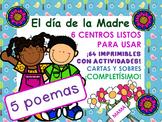 DIA DE LA MADRE. 6 CENTROS DE TRABAJO. MOTHER DAY EN ESPAÑOL