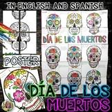 DIA DE LOS MUERTOS, DAY OF THE DEAD, COLLABORATIVE POSTER,