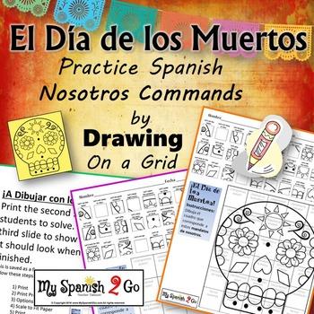 DIA DE LOS MUERTOS: Draw the Square in the Grid for NOSOTR