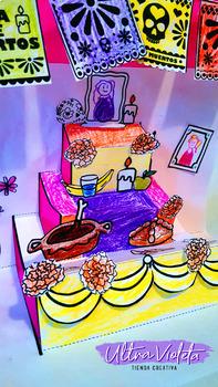 DIA DE MUERTOS/DAY OF THE DEAD Pop up DIY Altar