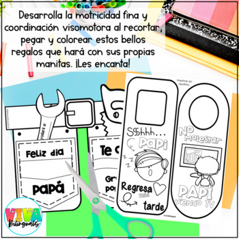 DIA DEL PADRE /FATHER´S DAY activities in Spanish