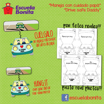 DIA DEL PADRE MANUALIDAD!  FATHER'S DAY CRAFT!!