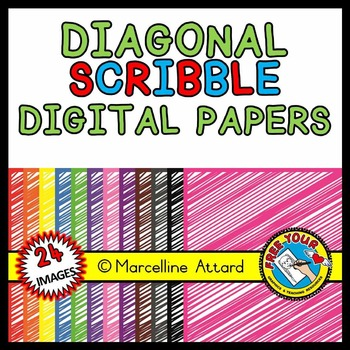 SCRIBBLE DIGITAL PAPERS: SCRIBBLE BACKGROUNDS CLIPART:SCRIBBLE CLIPART BACKDROPS