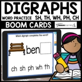 DIGRAPHS (SH, TH, WH, PH, CH) | BOOM CARDS❤️ Distance Learning