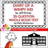 DIARY OF A WIMPY KID | PRINTABLE WHOLE BOOK TEST | 35 MULT